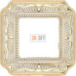 Рамка Toscana Firenze 1 пост (золото - патина) FD01361OP