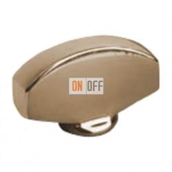 """Поворотный выключатель """",Овал"""",, цвет Bright Patina (Светлая бронза) FD02315PB"""