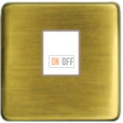 Компьютерная розетка одинарная. FD16-BAST - FD-T5-B - FD04317PB-A