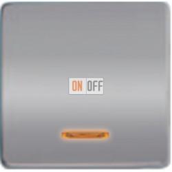 Выключатель одноклавишный с подсветкой 10А 250 V~ FD04312CB - FD21139-1 - FD16505 - FD16-BAST