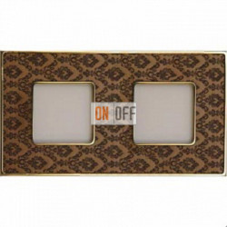 Рамка Vintage Tapestry 2 поста (Decorbrass - блестящее золото) FD01322DBOB