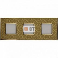 Рамка Vintage Tapestry 3 поста (Decorgold - блестящее золото) FD01323DGOB