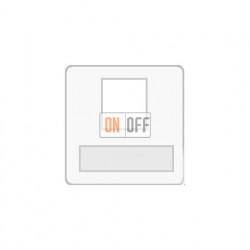 Аудиорозетка одинарная (белый) FD17896 - FD-310ST - FD16-BAST