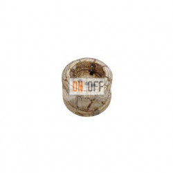 Розетка с заземлением со шторками 16А 250В~ Fontini Garby, пластик под мрамор 30204152
