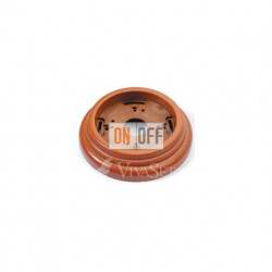Рамка накладная одноместная Fontini Garby, буковая (мёд) 30801192