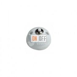 Выключатель-кнопка 10А 250В~, Fontini Garby белый фарфор 30310172