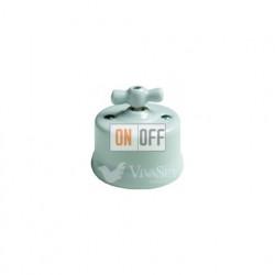 Светорегулятор 500Вт 250В~ для ламп накалив. и высоков. галогенн. , Fontini Garby белый фарфор 30333172