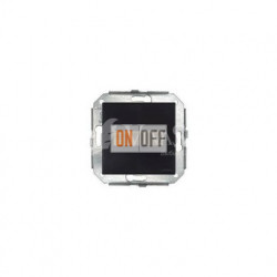 Выключатель 1 клавишный поворотный с 2-х мест, коричневый/бронза 37308572