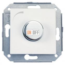 Светорегулятор 40 - 500Вт, белый/сталь 37332252