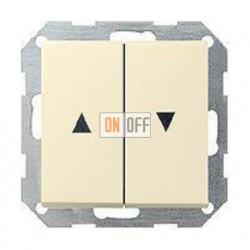 Выключатель управления жалюзи клавишный, 10 А / 250 В~ 015900 - 029401