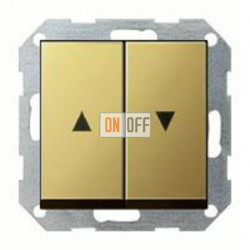 Выключатель управления жалюзи кнопочный, 10 А / 250 В~ 015800 - 0294604