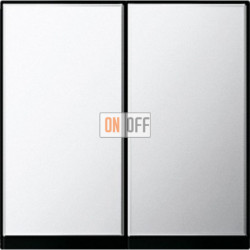 Выключатель двухклавишный, проходной (вкл/выкл с 2-х мест) 10 А / 250 В~ 010800 - 0295605
