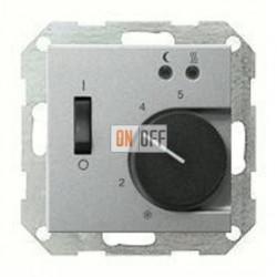 Термостат 230 В~ 10А с выносным датчиком для электрического подогрева пола механизм Eberle 149426 - FRe 525 22