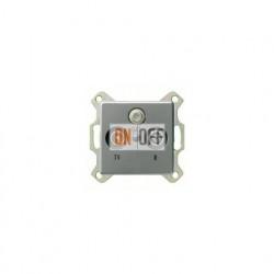 Розетка проходная TV SAT FM, диапазон частот от 4 до 2400 MГц 004200 - 086920
