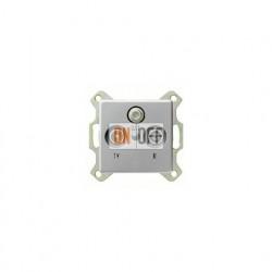 Розетка проходная TV SAT FM, диапазон частот от 4 до 2400 MГц 004200 - 0869203