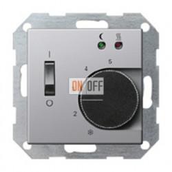 Термостат 230 В~ 10А с выносным датчиком для электрического подогрева пола механизм Eberle FRe 525 22 - 1494203