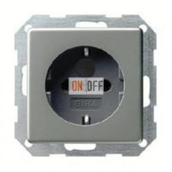 Розетка с заземляющими контактами 16 А / 250 В~ с защитой от детей и пиктограммой 045320