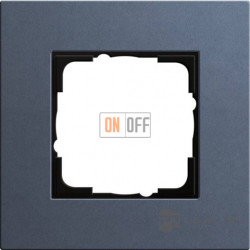 Рамка одноместная Gira Linoleum-Multiplex, синий 0211227