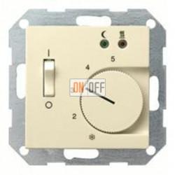 Термостат 230 В~ 10А  с выносным датчиком для электрического подогрева пола механизм Eberle 149401 - FRe 525 22