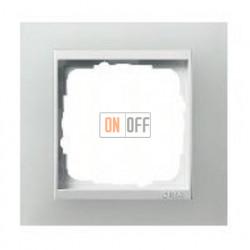 Рамка одинарная Gira Event Opaque матово-белый/глянц.белый 0211334