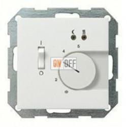 Термостат 230 В~ 10А  с выносным датчиком для электрического подогрева пола механизм Eberle FRe 525 22 - 1494112