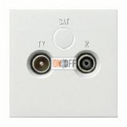 Розетка телевизионная оконечная TV FM, диапазон частот от 4 до 2400 MГц 004600 - 0869112