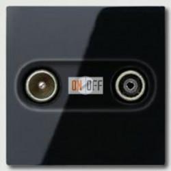 Розетка телевизионная оконечная TV FM, диапазон частот от 4 до 2400 MГц A561PLTVSW - S2900
