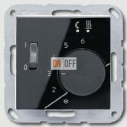 Термостат 230 В~ 10А с выносным датчиком для электрического подогрева пола механизм  AFTR231PLSW - FTR231U
