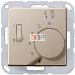 Термостат 230 В~ 10А с выносным датчиком для электрического подогрева пола механизм FTR231U - AFTR231PLCH
