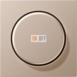 Светорегулятор поворотно нажимной 60-600 Вт. для ламп накаливания и галог.220В 266GDE - A1540CH