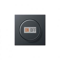 Светорегулятор поворотно нажимной 60-600 Вт. для ламп накаливания и галог.220В 266GDE - A1540BFANM