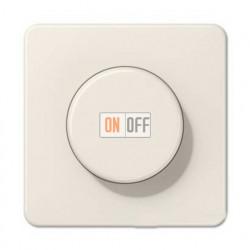Светорегулятор поворотно нажимной 20-420 Вт. для ламп накаливания и галог.220В и  универсальный LED 3-100Вт  1731DD - CD1540