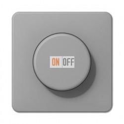 Светорегулятор поворотно нажимной 20-420 Вт. для ламп накаливания и галог.220В и  универсальный LED 3-100Вт  1731DD - CD1540GR