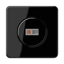 Светорегулятор поворотно нажимной 20-420 Вт. для ламп накаливания и галог.220В и  универсальный LED 3-100Вт  1731DD - CD1540SW
