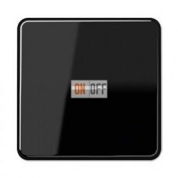 Выключатель одноклавишный с подсветкой, универс. (вкл/выкл с 2-х мест) 10 А / 250 В~ 506u - 90 - CD590KO5SW