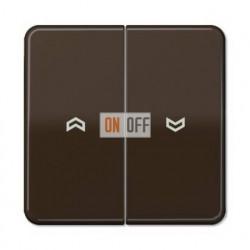 Выключатель управления жалюзи кнопочный, 10 А / 250 В~ 539VU - CD595PBR