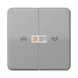 Выключатель управления жалюзи кнопочный, 10 А / 250 В~ 539VU - CD595PGR