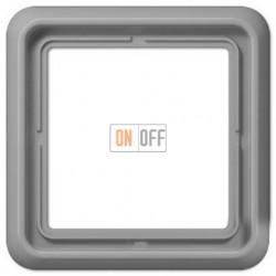 Рамка одинарная, Jung CD 500, серый CD581GR