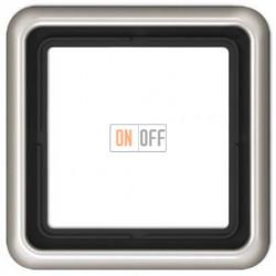Рамка одинарная Jung CD 500, платина CD581PT