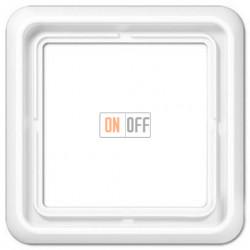Рамка одинарная Jung CD 500, белый CD581WW