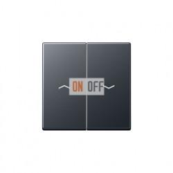 Выключатель управления жалюзи клавишный, 10 А / 250 В~ 509VU - A595BFPANM