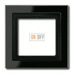 Рамка одинарная Jung LS-design, черный глянцевый LSD981SW