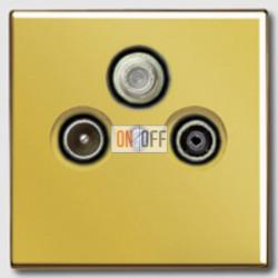 Розетка телевизионная оконечная TV SAT FM, диапазон частот от 4 до 2400 MГц S4100 - GO2990SAT
