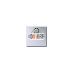 Розетка телевизионная проходная TV SAT FM, диапазон частот от 4 до 2400 MГц S4110 - al2990sat