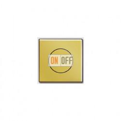 Светорегулятор поворотно-нажимной 60-400 Вт для ламп накаливания 244EX - GO1940