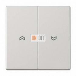 Выключатель управления жалюзи клавишный, 10 А / 250 В~ 509VU - LS995PLG