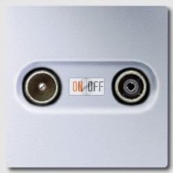 Розетка телевизионная проходная TV FM, диапазон частот от 4 до 2400 MГц S2900-10 - al2990tv