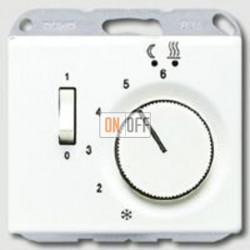 Термостат 230 В~ 10А с выносным датчиком для электрического подогрева пола механизм FTR231U - SLFTR231PLWW