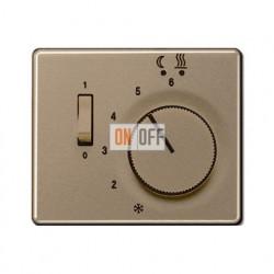 Термостат 230 В~ 10А с выносным датчиком для электрического подогрева пола механизм FTR231U - SLFTR231PLgb