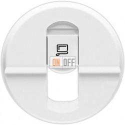 Розетка компьютерная одинарная Legrand Celiane  (белый) 68251 - 67344 - 80251